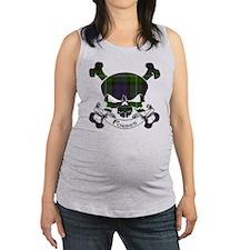 Forbes Tartan Skull Maternity Tank Top