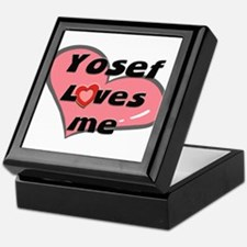 yosef loves me Keepsake Box