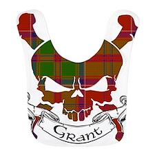 Grant Tartan Skull Bib