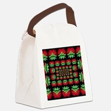 strawberry Canvas Lunch Bag
