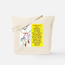 Friendly stranger-TI 2 Tote Bag