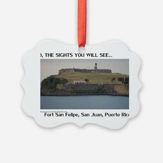 Fort San Felipe Ornament
