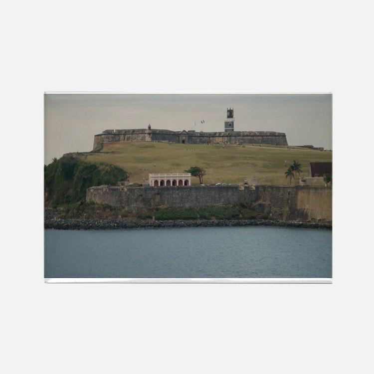 Fort San Felipe Rectangle Magnet