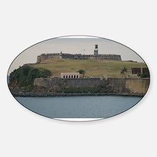 Fort San Felipe Sticker (Oval)