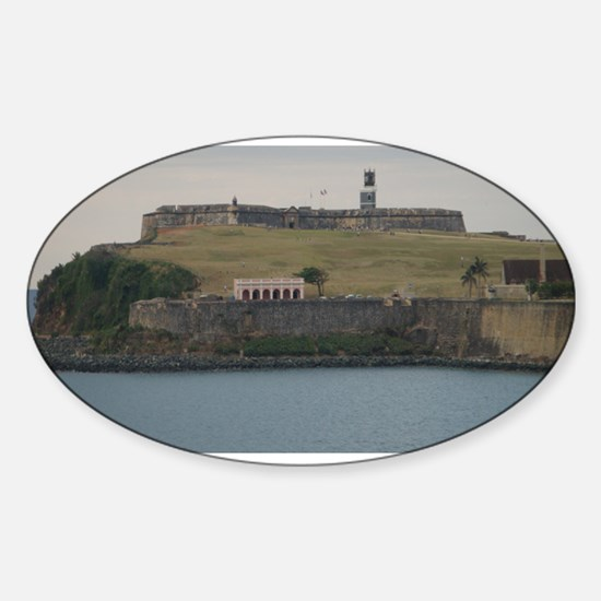 Fort San Felipe Sticker (Oval)