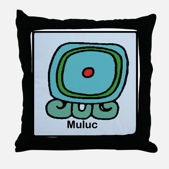 Muluc Throw Pillow