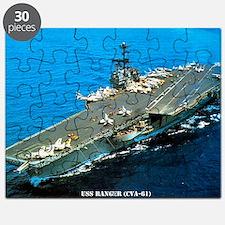 ranger cva lare framed print Puzzle