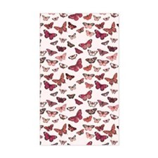 Pink Butterfly Card Decal
