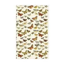 Vintage Butterfly Card Decal