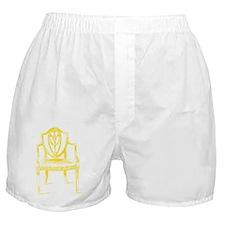 yellow louis 14th chair jpeg Boxer Shorts