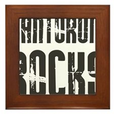 Rick Santorumrocks Framed Tile