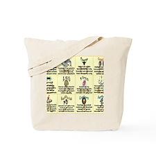 zodiac-poster Tote Bag