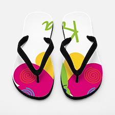 Kara-the-butterfly Flip Flops
