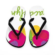 Jacquelyn-the-butterfly Flip Flops