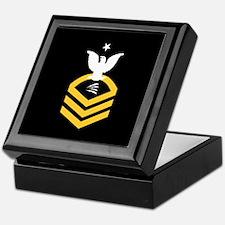 Navy ITCS<BR> Tiled Insignia Box