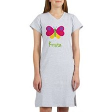 Krista-the-butterfly Women's Nightshirt
