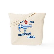 kiss my grecian ass1a1 Tote Bag