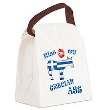kiss my grecian ass1a1 Canvas Lunch Bag
