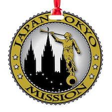 Japan Tokyo LDS Mission Angel Moron Ornament