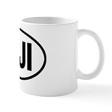 FijiOvalSticker Mug