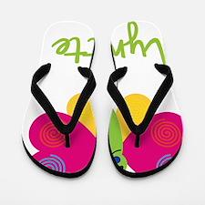 Lynette-the-butterfly Flip Flops