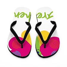 Gretchen-the-butterfly Flip Flops