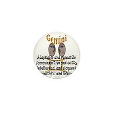 gemini Mini Button