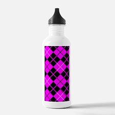 kindlesleevepinkargyle Water Bottle