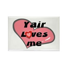 yair loves me Rectangle Magnet