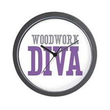 Woodwork DIVA Wall Clock