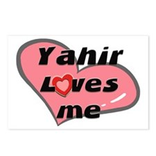 yahir loves me  Postcards (Package of 8)