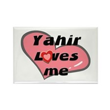 yahir loves me Rectangle Magnet