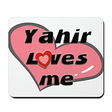 yahir loves me  Mousepad