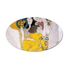 Klimt Cal 2 35x21 Oval Wall Decal