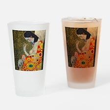 Klimt Cal 9 Drinking Glass