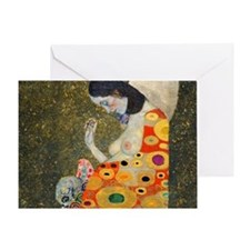 Klimt Cal 9 Greeting Card