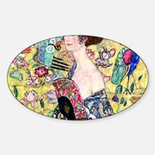 Klimt Cal 7 Sticker (Oval)