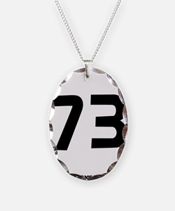 black, 73 in the round Necklace