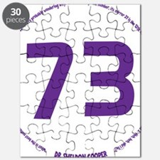 purple, 73 in the round Puzzle