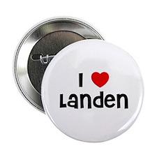 """I * Landen 2.25"""" Button (10 pack)"""