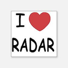 "RADAR Square Sticker 3"" x 3"""