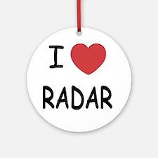 RADAR Round Ornament