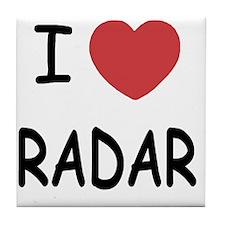 RADAR Tile Coaster