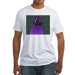 Cyber World Fitted T-Shirt