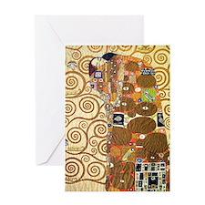 Klimt 24 Greeting Card