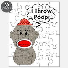 I throw poop 2012 Puzzle