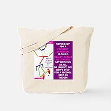 Friendly stranger-TI. Tote Bag