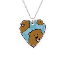 HappyGroundhogBirthday Necklace