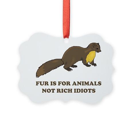 fur Picture Ornament