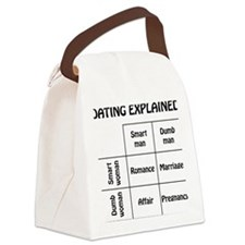 dating Canvas Lunch Bag